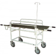 Stretcher Trolley with drop side /drop stand m/ poles MF-010HA