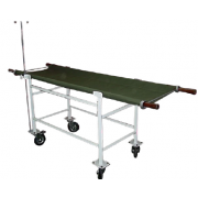 Stretcher Trolley wooden poles-canvas MF-010HB