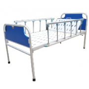 Hospital Bed with backrest / collapsible side railings and head and leg boards MF-01HC