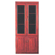 2 Doors Glass Cabinet 366