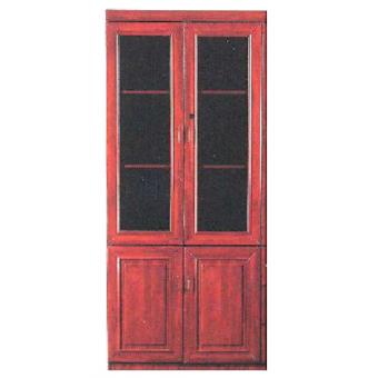 2 Doors Glass Cabinet 366