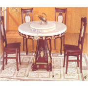 Marble Dinning Table Round A-05