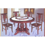 Marble Dinning Table Round A-2