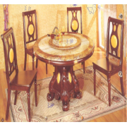 Marble Dinning Table Round F-05