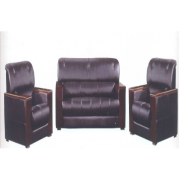 Office Sofa Set: 5 Seater