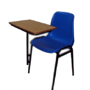 Writing Chair Plastic MF-42A