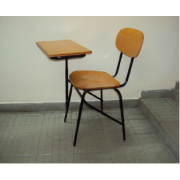 Marine Plywood Writing Chair Seat And Back MF-43C