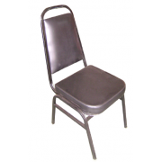 Restaurant Chair/ Conference Cushion Fabric/PU Leather Material MF-57B