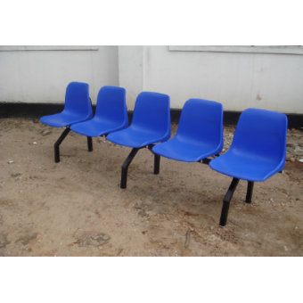3 seats,4 seats 5 seats Visitor Plastic Bench MF-63A