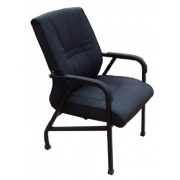 Visitors / Conference Chairs - Heavy duty with 4 legs Low Back Leather / Fabric Material MF-EOIB