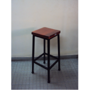 Lab Stool Wooden Top MF-33E