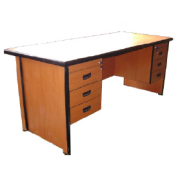 Executive Table: With Double Pedestal And Keyboard Tray MF-2-2