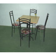 Garden Table With 4 Chairs MF-20B