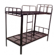Double Decker Bed - Metal- Black MF-26B