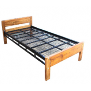 Single Bed - Wooden Local Product MF-26G