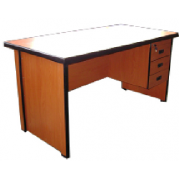 Office Table: With Single Pedestal MF-30D