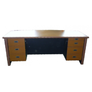 Executive Table: With Double Pedestal MF-4B