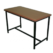 Office Table Without Drwa Metal Frame MDF- Top MF-65C