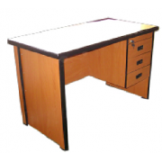 Office Tabke MDF With Side Pedestal MF-72A