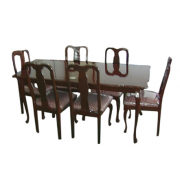 Dinning Table Oval 8 Seater With Chair MF-82D