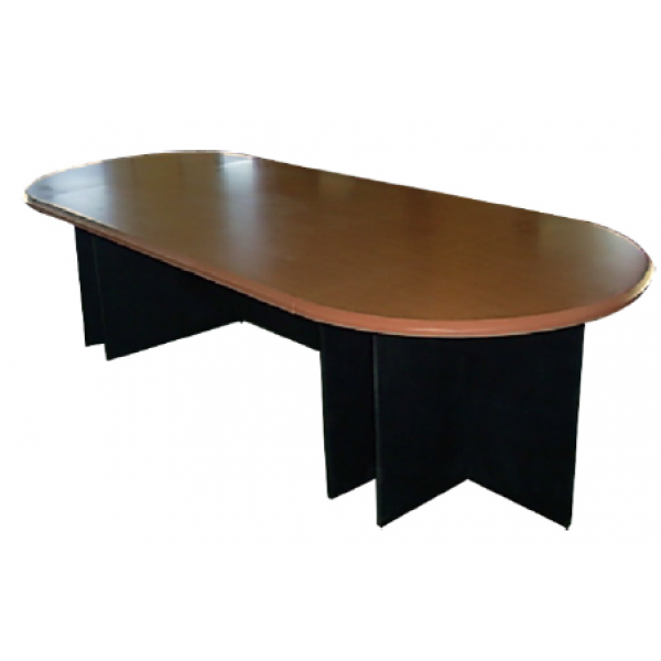 conference table oval shape 12 person mf 95b