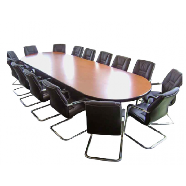 Conference Table Oval Shape Person MFB - 12 person conference table
