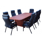 Conference Table, Made Of Well Kiln Dried Hardwood