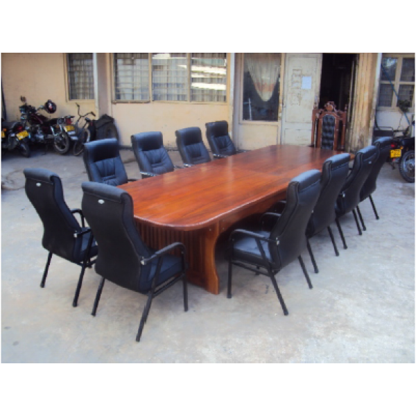 Shape Conference Table For Person Made From Hardwood - 14 person conference table