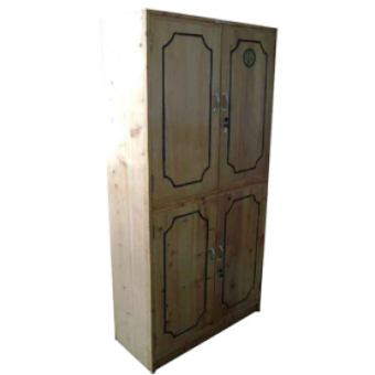 Cup Board Wooden 3X6 with 4 doors MF-111D