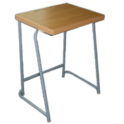 School Desk Without shelf  MDF - Top/ Metal Frame MF-37B