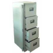 Steel Filling Cabinet 4 Drawers With Security Bar-Imported MF-59C
