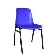 Plastic Chair Fixed On Metal Frame MF-64
