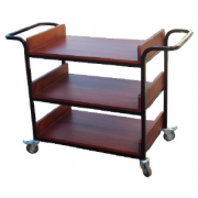 News Paper Trolley 3 shelves MF-66D