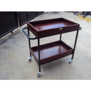 News Paper Trolley 2 shelves MF-66D-2