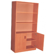 Book Shelf With Two Small Doors MF-73B
